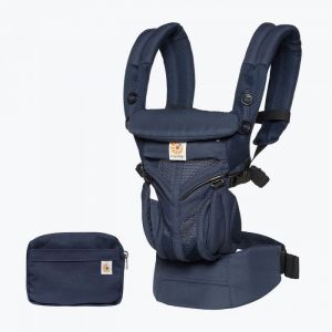 Ergobaby Omni 360-Babytrage, Cool Air Mesh - Midnight Blue