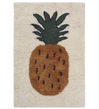Ferm Living Fruitiana Wolle-Teppich, 80 x 120 cm - Ananas
