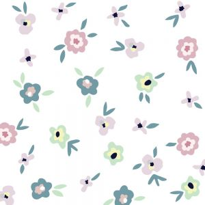 Tresxics textile Wandstickers, Flowers