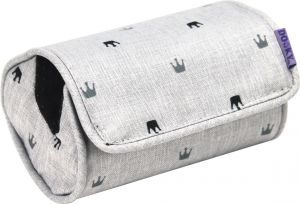 Dooky Polsterkissen Arm Cushion, Light Grey Crowns