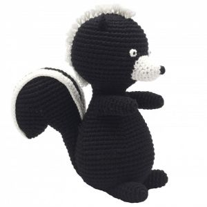 NatureZoo of Denmark Kuschelstricktier, Sir Skunk