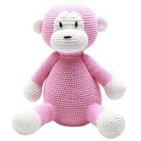 NatureZoo of Denmark XL-Spieltier, 40 cm hoch - Lady Monkey