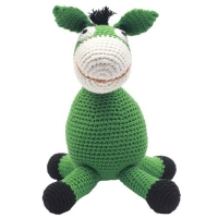NatureZoo of Denmark XL-Spieltier, 40 cm hoch - Mr. Donkey