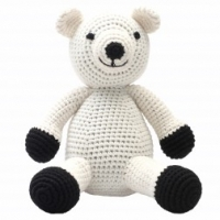 NatureZoo of Denmark XL-Spieltier, 40 cm hoch - Sir Polar Bear
