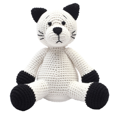 NatureZoo of Denmark XL-Spieltier, 40 cm hoch - Miss Cat