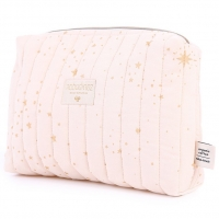 NOBODINOZ Windeltasche Vanity Case - Gold Stella/ Dream Pink