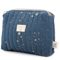 NOBODINOZ Windeltasche Vanity Case - Gold Stella/ Night Blue