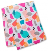Lulujo Muslin Swaddle Mulltuch - Paper Cut (Designer Collection)