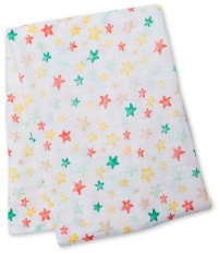 Lulujo Muslin Swaddle Mulltuch - Star Bright