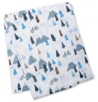 Lulujo Muslin Swaddle Mulltuch - Mountain Top