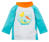 Zoocchini UV-Schutz-Shirt/ Rashguards - Fishbowl Buddies
