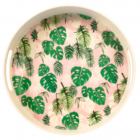 Rex London Tablett aus Bambusfaser - Tropical Palm
