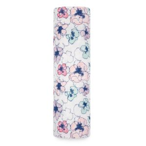 Aden Anais Mulltuch Swaddle, Trail Blooms - Flora