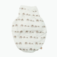 Ergobaby Swaddler Puck-mich-sack, S/M, Elephants