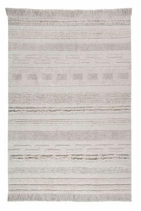 Lorena Canals Kinderteppich, Early Hours Air Dune White, 140 x 200 cm