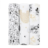 Aden + Anais Swaddles 3-pack, Mickeys 90th