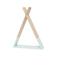 Petit Monkey Wandregal, Tipi - mint