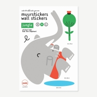 Makii Wandsticker, Elefant