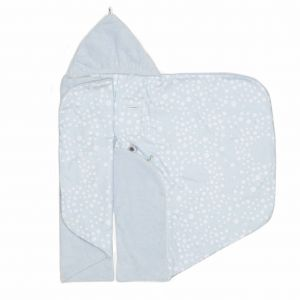 Snoozebaby Wickeldecke Trendy Wrapping, Cloudy Blue