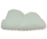 Nobodinoz Marshmallow Cloud Kissen, mint