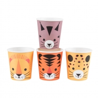 My Little Day Kartonbecher, Mini Felines, 8-er Pack
