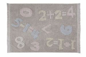 Lorena Canals Teppich, Back to School Baby Numbers