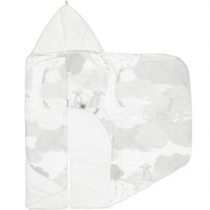 Snoozebaby Wickeldecke Trendy Wrapping, White Star