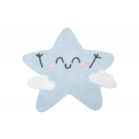 Lorena Canals Kinderteppich Mr. Wonderful - Happy Star 120 x 120 cm