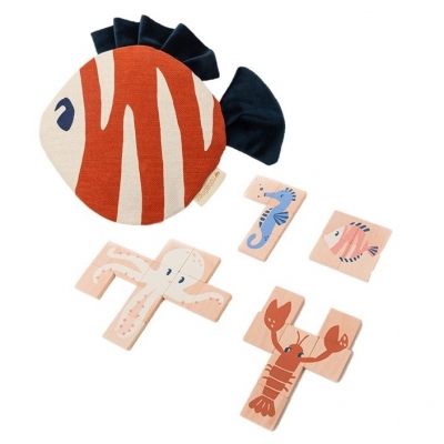 Nobodinoz Holzpuzzle Sea Animals
