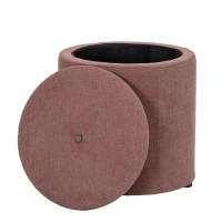 Bloomingville Pouf, Rose