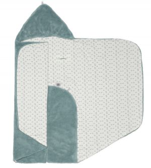 Snoozebaby Wickeldecke Trendy Wrapping, Gray Mist