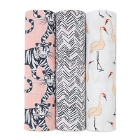 Aden + Anais Swaddles 3er-Pack, Pacific Paradise