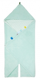 Snoozebaby Wickeldecke Trendy Wrapping, Mint