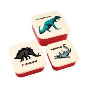 Set 3 Snack-Dosen, Prehistoric Land