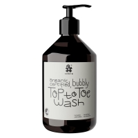Sebra Top to Toe Wash, Haarshampoo und Schaum