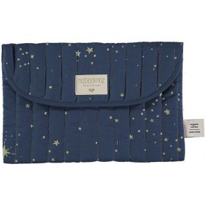 NOBODINOZ Windeltasche Bagatelle - Gold Stella/ Night Blue