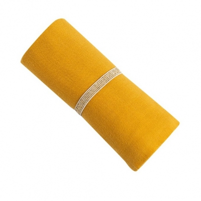 Nobodinoz Baby Love Swaddle, 70x70 - Fariente Yellow