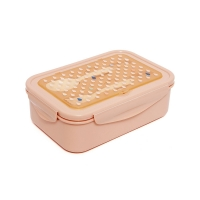 Petit Monkey Bento Lunch Box, orange