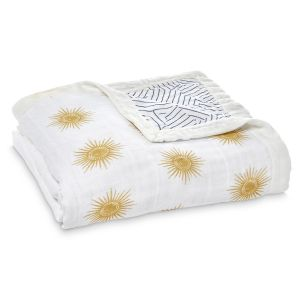 Aden Anais Kuscheldecke Silky Soft Dream Blanket - Golden Sun
