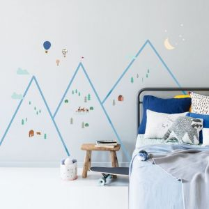 MIMIlou Wandsticker, Mountains