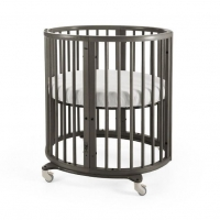 Stokke Sleepi Mini (inkl. Matratze), Hazy Grey
