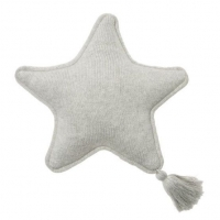 Lorena Canals Strickkissen, Twinkle Star Grey