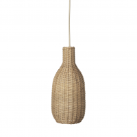 Ferm Living Deckenlampe aus Rattan, Bottle Lamp