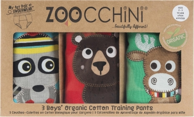 ZOOCCHINI Training Pants Boys aus Bio-Baumwolle - Forest Chums (3-4 Jahre)