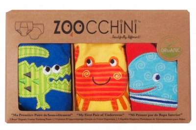 ZOOCCHINI Training Pants Boys aus Bio-Baumwolle - Ocean Friends (2-3 Jahre)