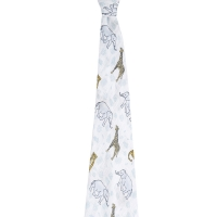 Aden Anais Mulltuch Swaddle, Jungle/ Tropical