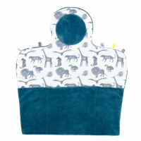 Snoozebaby Wickelmatte Easy Changing, Storm Blue
