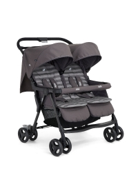 Joie Aire Twin Zwillingsbuggy, Dark Pewter