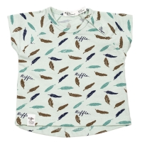 Riffle Amsterdam T-Shirt, feather