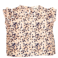 Riffle Amsterdam Bluse, flower pink